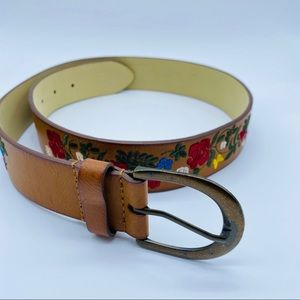 Embroidered Belt Size S/M